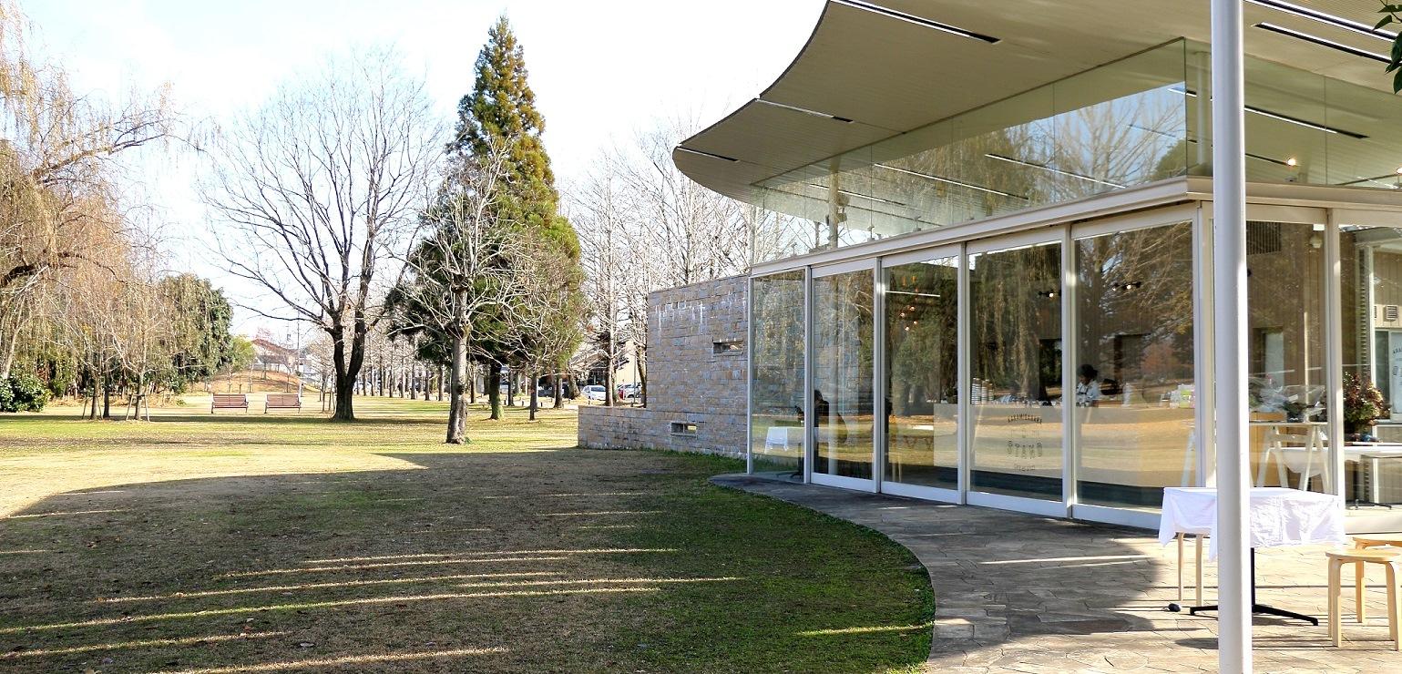 公園での過ごし方を豊かにするカフェであり、文化発信の場。