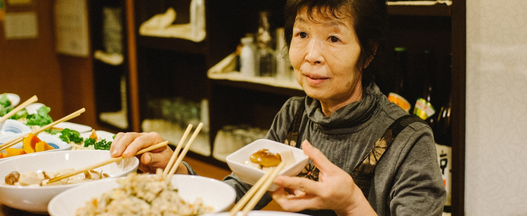 時代が変わっても在り続ける、手作り料理が自慢の大衆食堂。