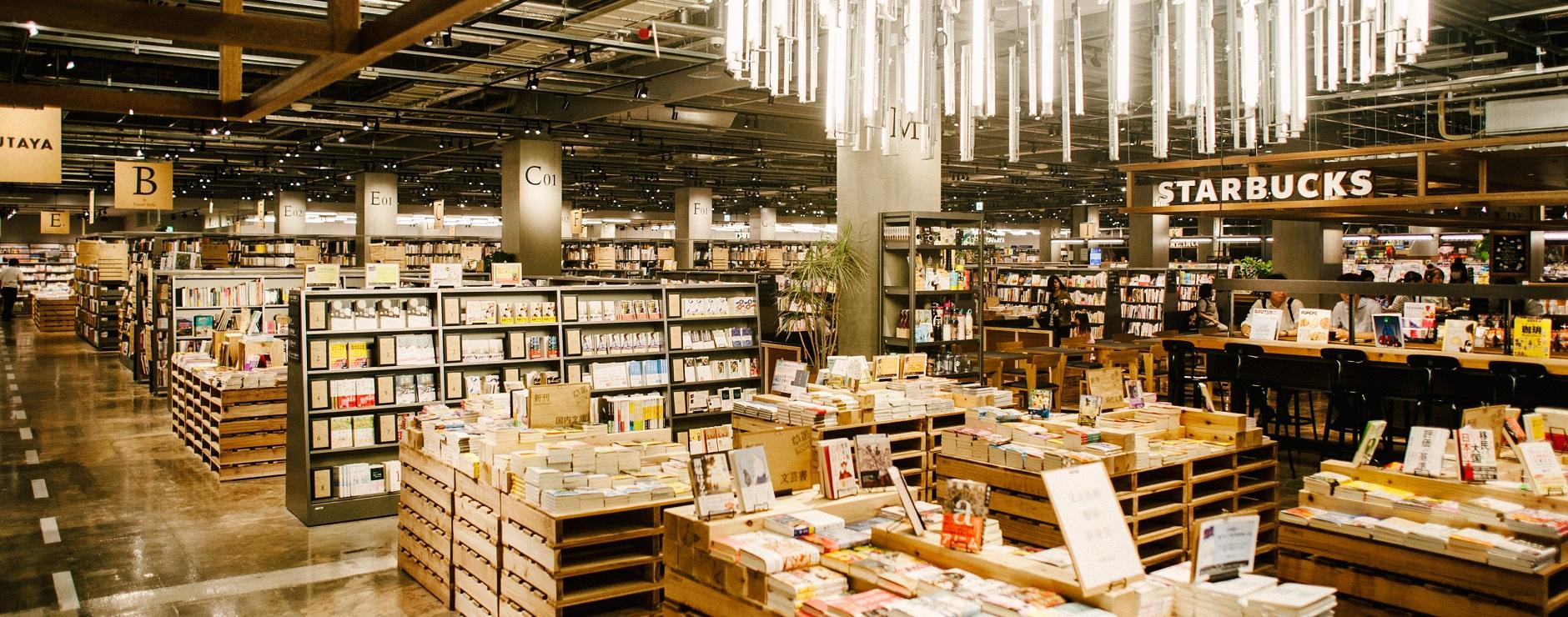 日常をちょっと贅沢にする書店とカフェの新しい関係。