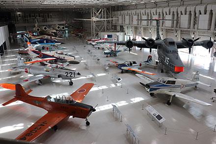 各務原の航空産業を象徴する、かかみがはら航空宇宙博物館