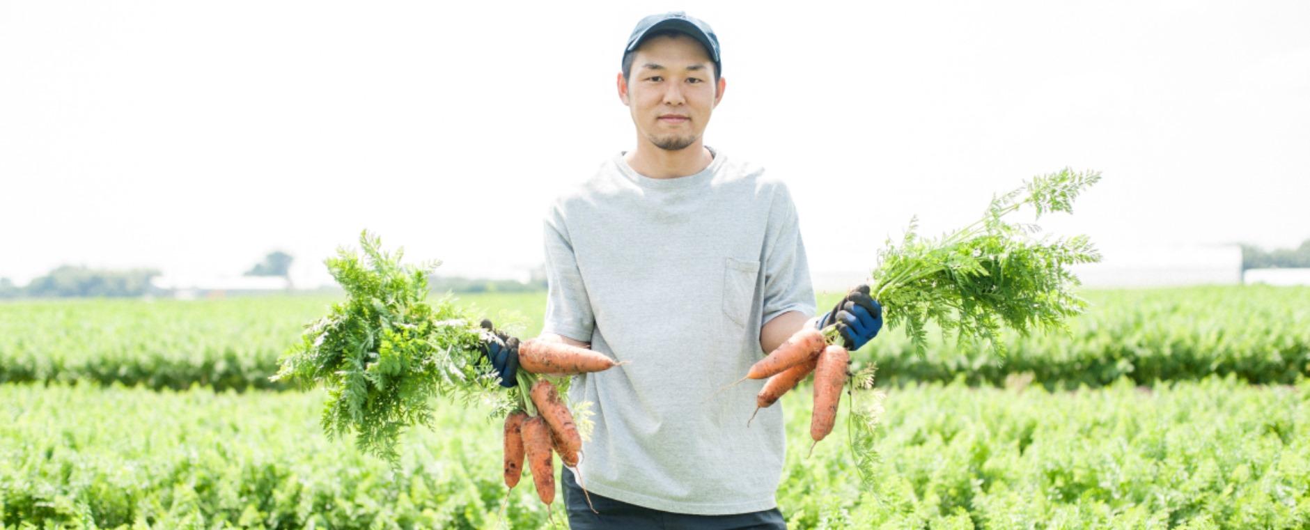若き農家が見据える「各務原にんじん」の未来。
