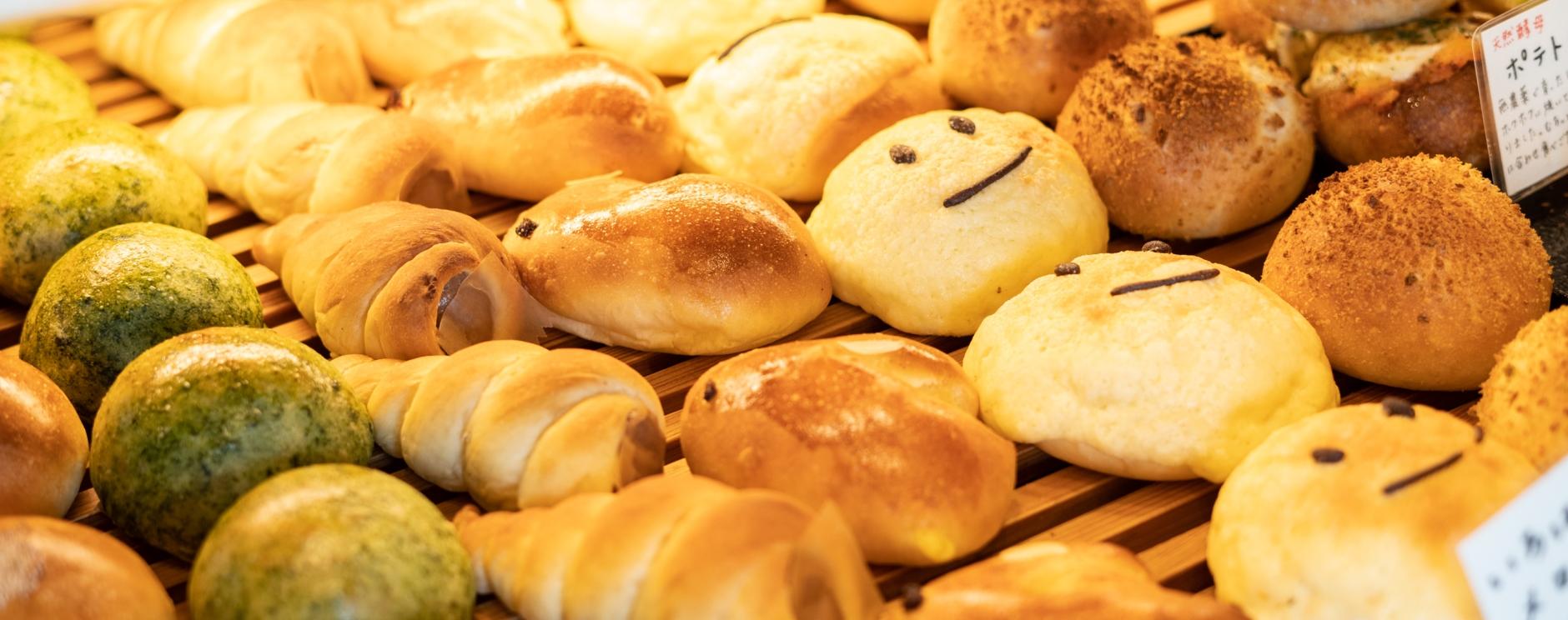 夫婦が作り出す、優しさ溢れるパン屋。
