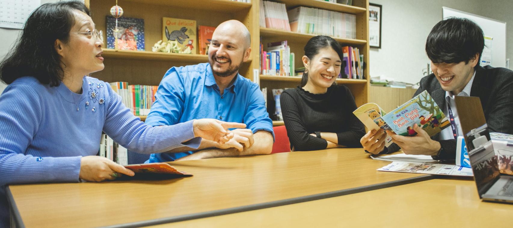 """テーマは""""多文化共生""""。外国人が主役となる「KIAフェスティバル」運営スタッフたちによる、真の国際交流対談。"""