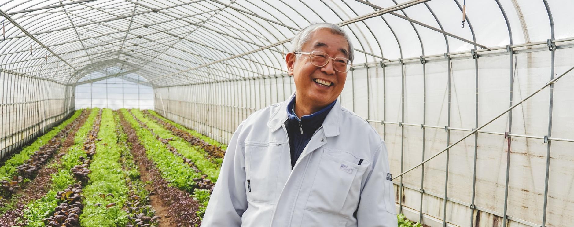 持続可能な農業。小林さんの挑戦。